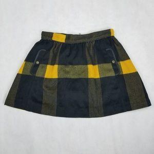 Free people Women's mini plaid skirt
